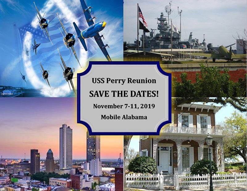 Save the Date - Mobile, Alabama